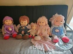 1980 Vintage Ice Cream Doll Collection Lot of 5