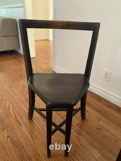 4 Seatmore Frank Rieder And Sons Ice Cream Parlor Chairs 1920's