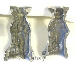 VTG Cast Iron Candy/Ice Cream Mold Uncle Sam Thom Mills, PA. RARE#70 Germany