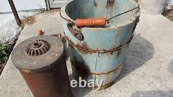 Vintage Antique Wood Ice Cream Maker-Made in USA