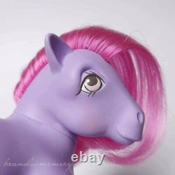 Vtg G1 Mail Order Sweet Scoops My Little Pony MO MLP horse purple ice cream 80's