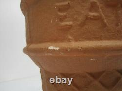 Vtg c1950s Eat-It-All Ice Cream Cone Advertising Statue Table Lamp Chalkware 22